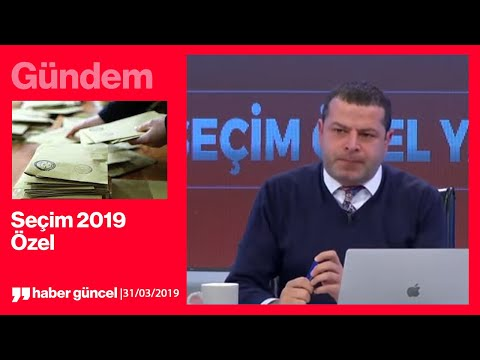 Cüneyt Özdemir Ile Seçim 2019 Gecesi Özel Yayını