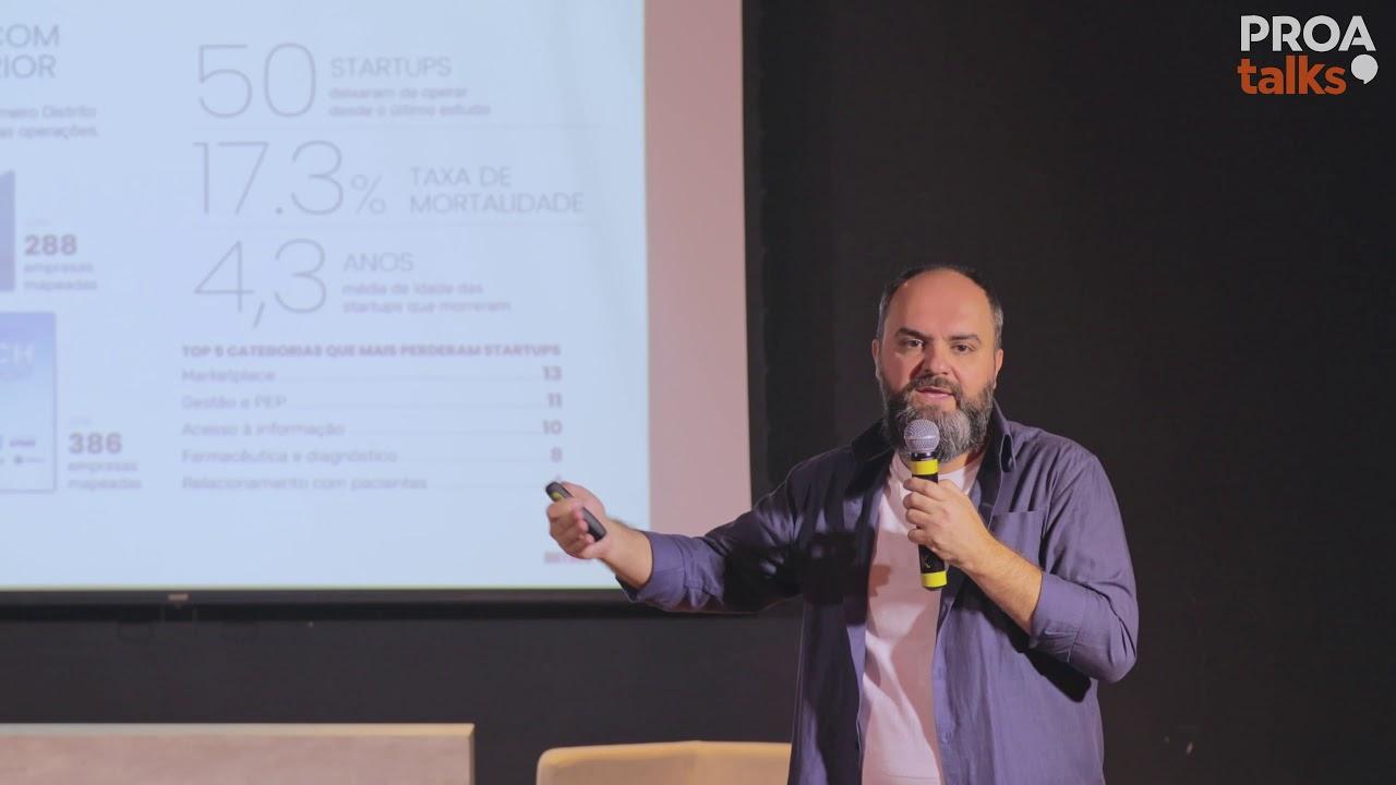 Proa Talks #03 - Saúde no futuro: Tendências e tecnologia - Luiz Gustavo Comeli