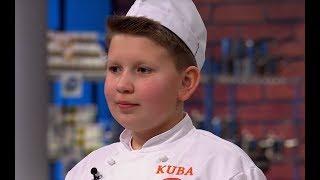 Zobacz finałowe dania Kuby [MasterChef Junior]