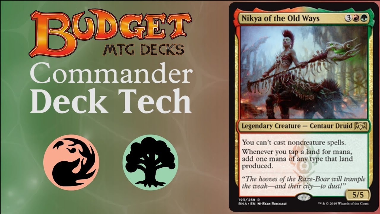 Budget Nikya of the Old Ways - EDH/Commander RAMP