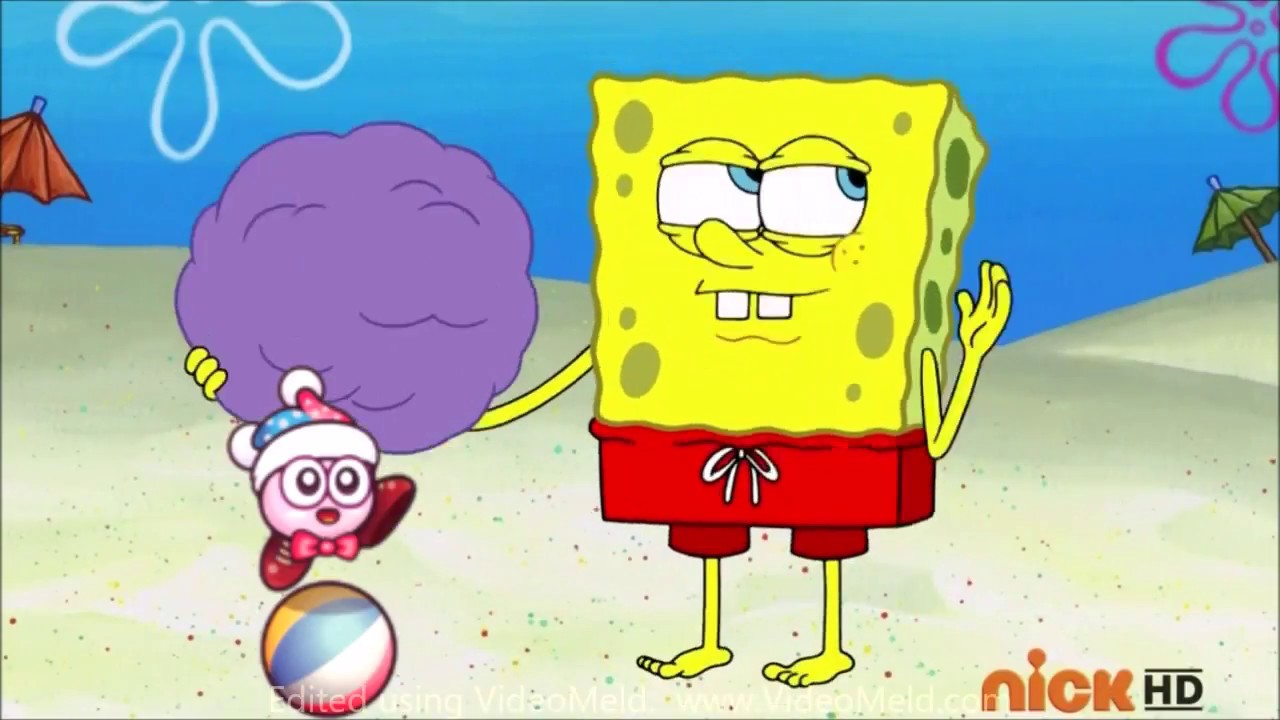 Create A Kirby Character Noll: Kirby Characters Portrayed By Spongebob