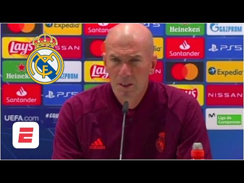 CHAMPIONS LEAGUE. Zidane: