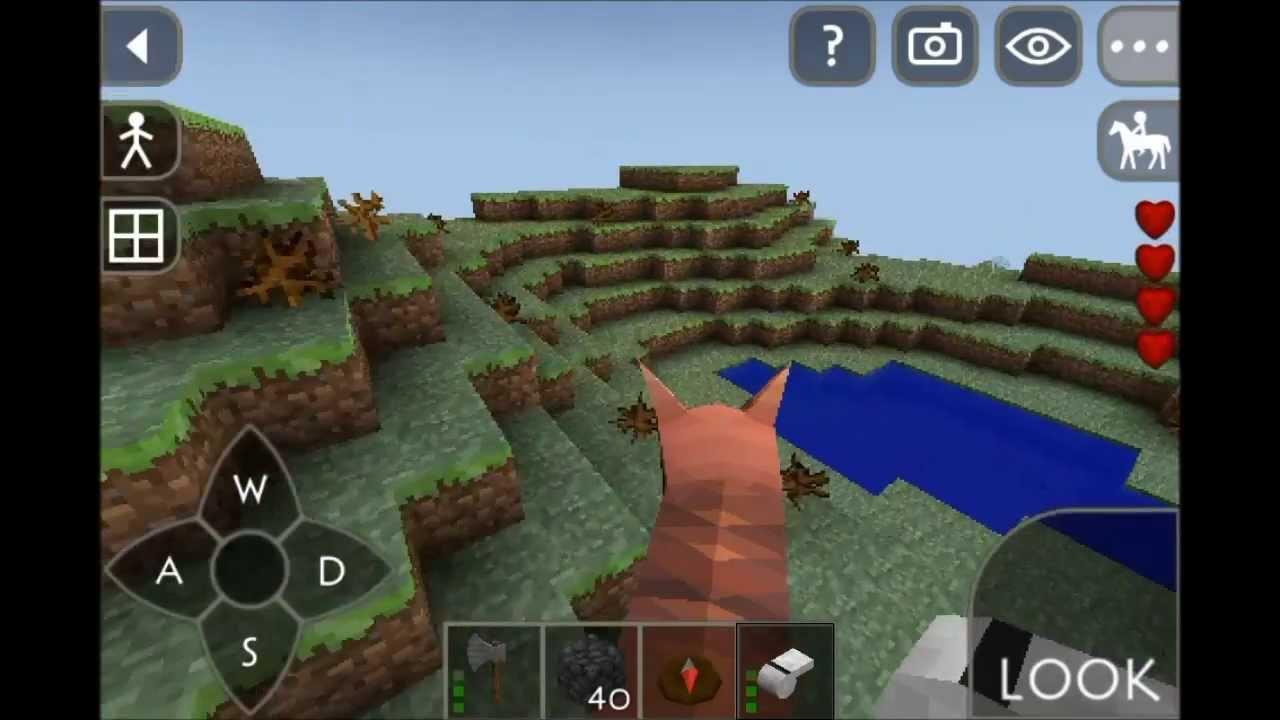 Survivalcraft ep 6 el mineral de la polvora en espa ol for Jardin de la polvora