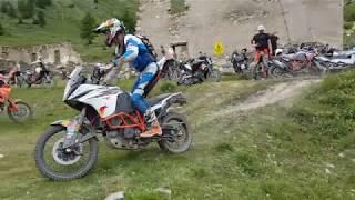 KTM Rally Italien 2017 Tag 3 Forte Jafferau mit Chris Birch