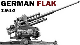 German Anti-Aircraft Gun System | Flak | US Air Force Training Film | 1944