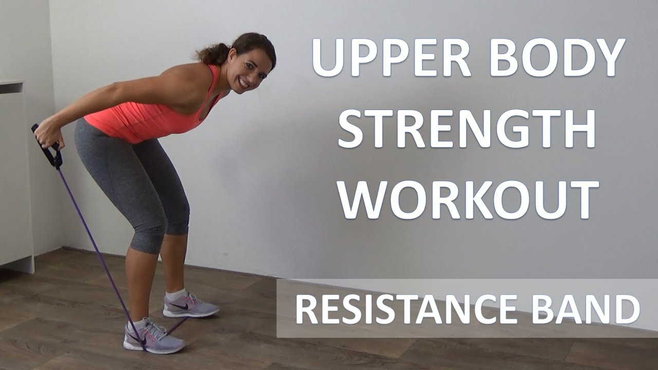 Resistance Band Workout – 10 Minute Upper Body Strength Workout For Arms 85fb037796