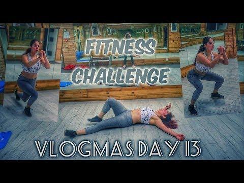 Фитнес предизвикателство!!! (с послание към вас..) | Влогмас Ден 13
