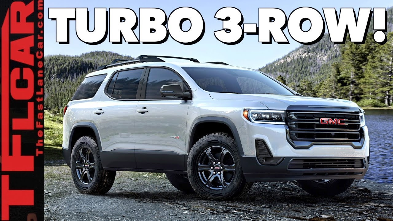 2020 Gmc Acadia Revealed Here S An Early Glimpse At What S New And
