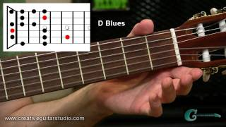 GUITAR STYLES: Open String Blues Scale Patterns