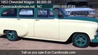 1953 Chevrolet Wagon  - for sale in , NC 27603 #VNclassics
