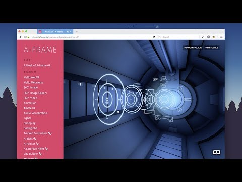 WebVR and A-Frame Showcase in Firefox