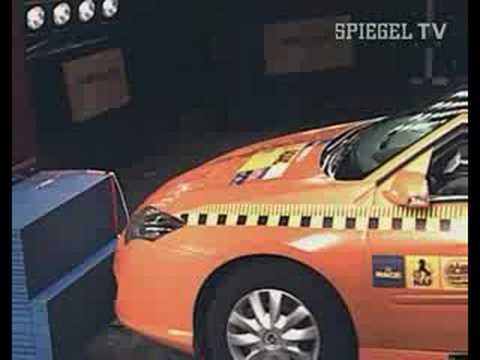 ADAC: Crash Test At 80 Km/h