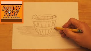How to Draw a Bushel Basket