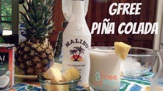 A Malibu Gluten Free Piña Colada
