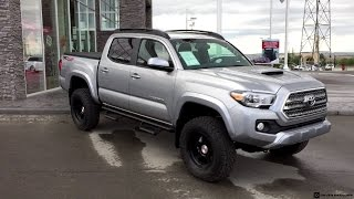 Lifted 2016 Toyota Tacoma TRD Sport on 265/70R17 Tires