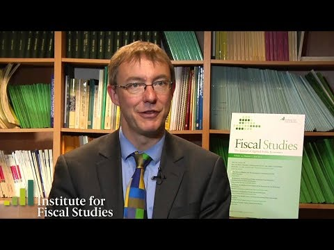 IFS director Paul Johnson: Fiscal Studies journal special recession edition