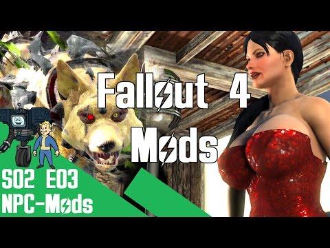 Roboter-Hunde und Live-Musik   Fallout 4 Mod Review   NPC-Mods [German/Deutsch]