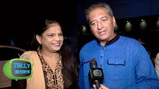 Mr. Bhalla Introduces His Real Life Toshi ji at Divyanka Vivek RECEPTION PARTY | Exclusive Interview