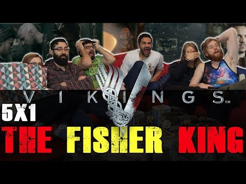 Vikings - 5x1 The Fisher King - Group Reaction