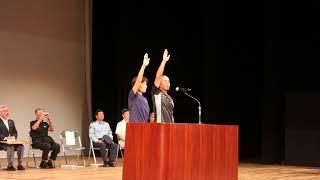 石垣島トライアスロン2018開会式