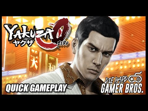 Yakuza Zero ヤクザ0 - PS4