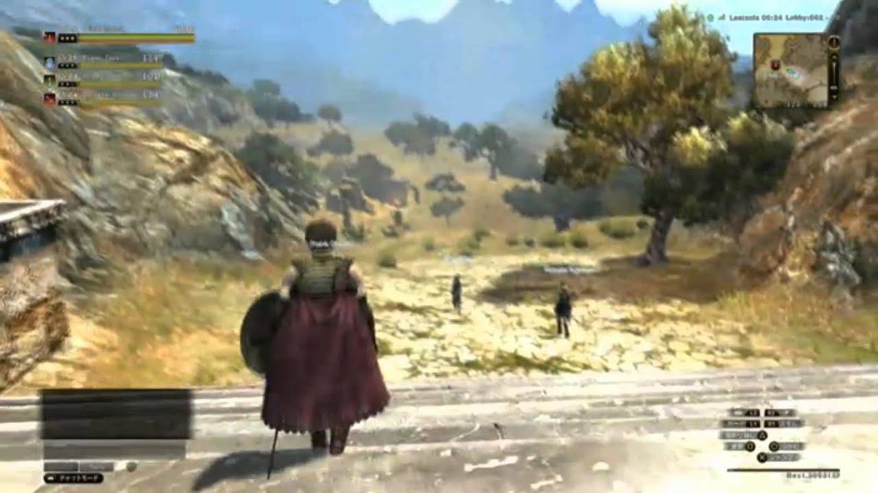 dragons dogma online gameplay