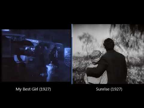 The couple in love: My Best Girl (1927) and Sunrise (1927)