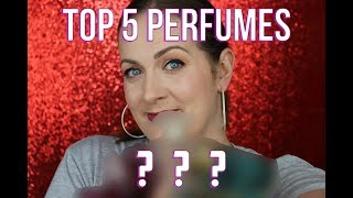 My Top Best 5 Perfumes!! Why do I LIE about what perfumes I wear?? (2018) | Claire Tutorials
