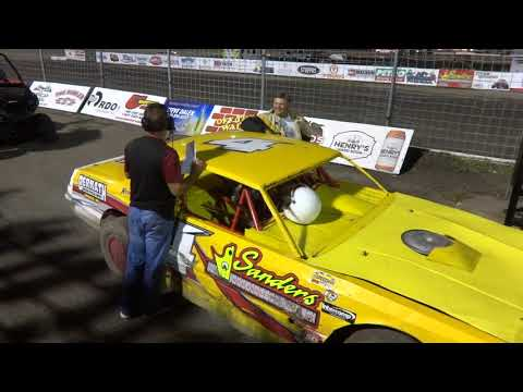 Red River Valley Speedway, IMCA Stock Car Feature Interviews 8/18/17