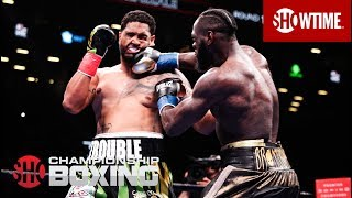 "WBC Heavyweight World Champion Deontay ""The Bronze Bomber"" Wilder delivered the 40th knockout of his career in devastating fashion, sending mandatory challenger Dominic ""Trouble"" Breazeale flat on his back with a trademark right hand in front of a raucous crowd at Barclays Center.  #SHOSports #WilderBreazeale  Subscribe to the SHOWTIME Sports YouTube channel: https://goo.gl/s8CWVT  Follow SHOWTIME Sports: Facebook: https://www.facebook.com/ShoSports/ Twitter: https://twitter.com/SHOsports Instagram: https://instagram.com/shosports Snapchat: https://www.snapchat.com/add/shosports Official Site: https://www.sho.com/sports  Follow SHOWTIME Boxing: Facebook: https://www.facebook.com/ShoBoxing Twitter: https://twitter.com/ShowtimeBoxing Instagram: https://instagram.com/showtimeboxing Tumblr: http://showtimeboxing.tumblr.com/   Follow INSIDE THE NFL: Facebook: https://www.facebook.com/insidetheNFL Twitter: https://twitter.com/insidetheNFL Instagram: https://www.instagram.com/insidetheNFL/  Follow BELOW THE BELT with Brendan Schaub: Facebook: https://www.facebook.com/BelowTheBeltSHO Twitter: https://twitter.com/btbshowtime Instagram: https://www.instagram.com/belowthebelt/  Follow SHOWTIME: Facebook: https://www.facebook.com/showtime Twitter: https://twitter.com/SHO_Network Instagram: https://instagram.com/showtime/ Youtube: https://www.youtube.com/user/SHOWTIME Official Site: https://www.sho.com/"
