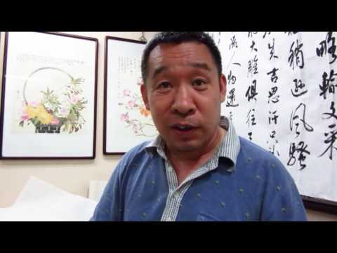 Haiying in Beijing 2016 - Chat with a calligrapher
