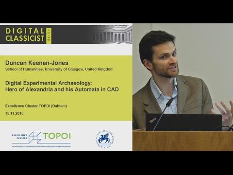 Digital Classicist Seminar Berlin (2016/2017) - Seminar 3
