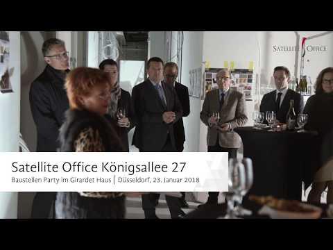 Satellite Office - Erste Einblicke in die neue Location in Düsseldorf