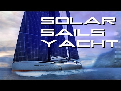 Behold The future Sailing Yacht With Flexible Solar Sails
