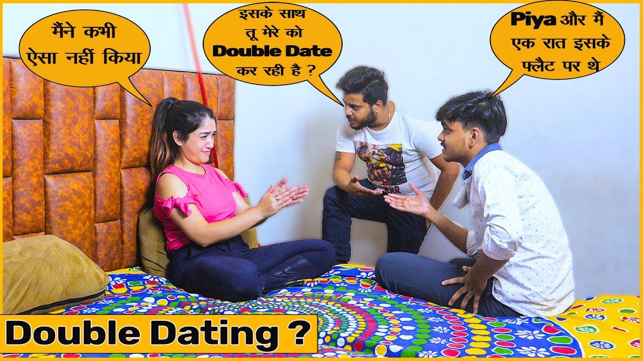 Piya Doing Double Dating With Manish? - Prank with GF | Bunty or Babli