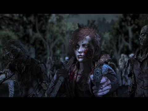 Download THE WALKING DEAD: The Final Season Ep4 - Bridge battle, Minnie's & Louis Deaths, Clem gets bitten
