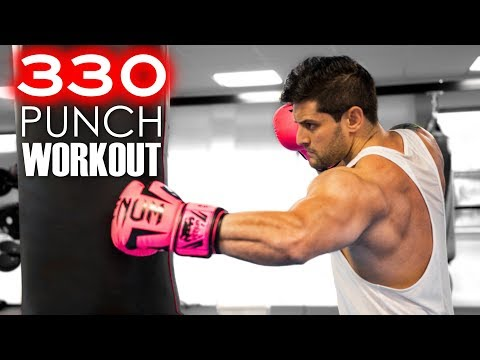 330-punch-workout-challenge-|-build-muscle---speed---power-|-heavy-bag-combos-|-lex-fitness