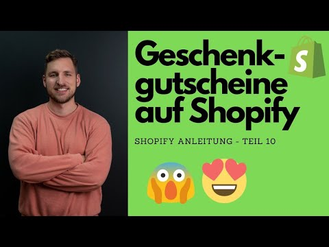 Wie Lege Ich Geschenk-Gutscheine Auf Shopify An? - Teil 10 Der Shopify Anleitung