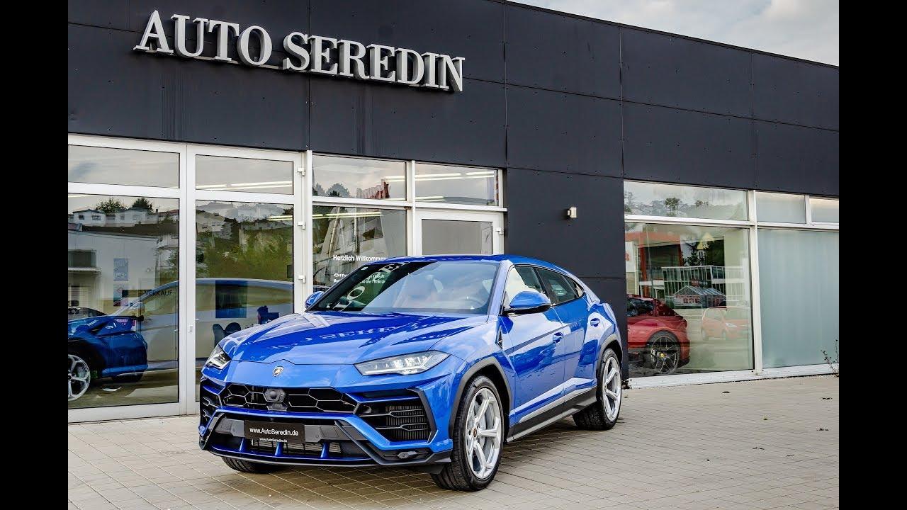 2018 Lamborghini Urus Blue Brown Soundcheck Auto Seredin
