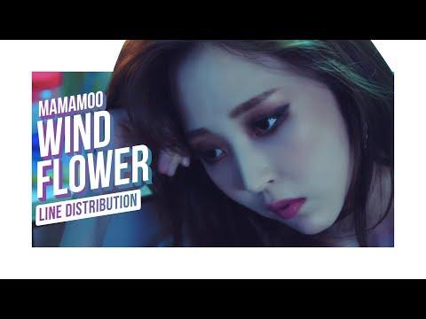 • MAMAMOO • Wind Flower • Line Distribution • 마마무 •
