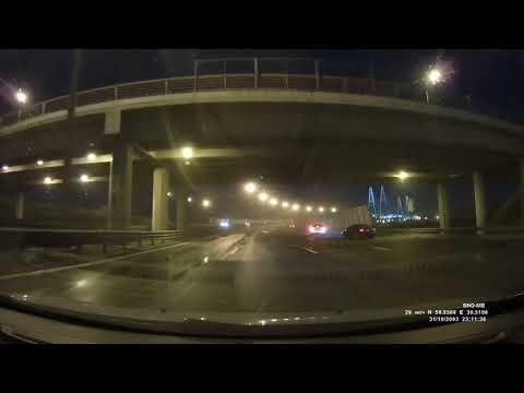 Смертельное ДТП на КАД: последние секунды полёта «Хонды» попали на видео