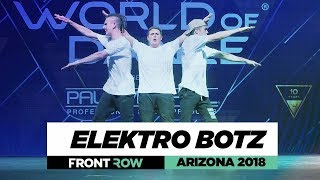Elektro Botz | FrontRow | World of Dance Arizona 2018 | #WODAZ18