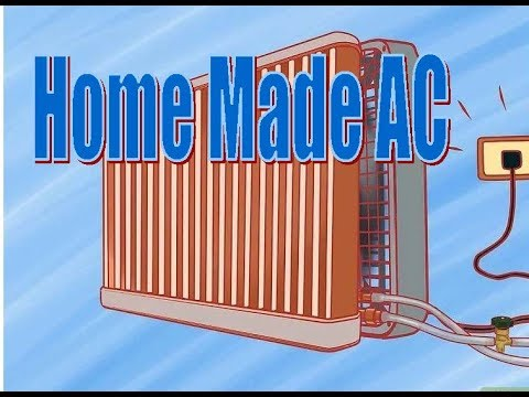 Home Made Air Conditioner Using A Recycle Radiator