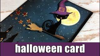Halloween card   using Sizzix dies