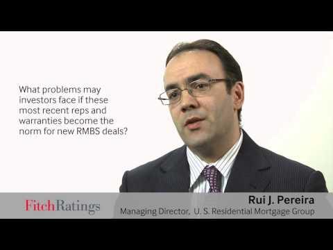RMBS 2.0: Reps & Warranties Changing Landscape