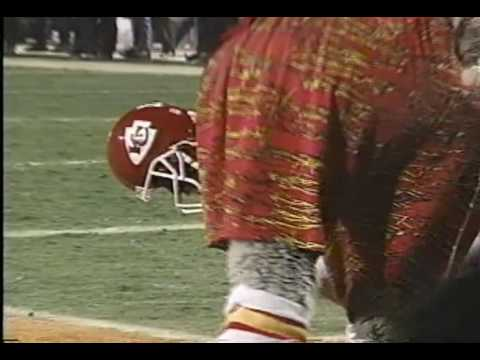 1995 Chiefs Playoffs - Lake Dawson drops game winning TD against Colts