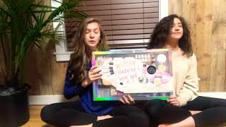 We tried the Deluxe Spa Kit!!!! (With bath bombs)