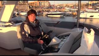 Princess 68 sea trial from Motor Boat & Yachting