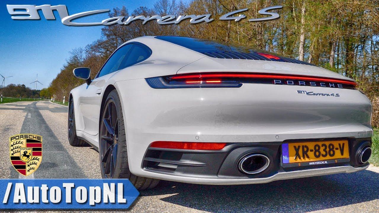 New Porsche 911 992 Carrera 4s Sport Exhaust Sound Revs Onboard By Autotopnl