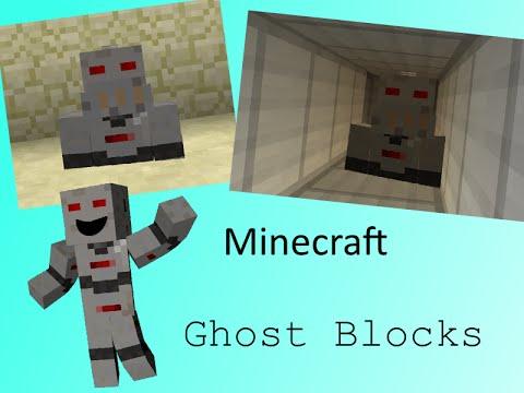 minecraft ghost block command